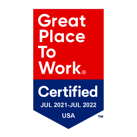 Mineral 2022 - Great Place to Work badge